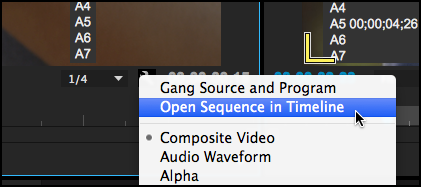 Open-Sequence-In-Timeline